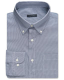 Kingsley Houndstooth Performance Twill Sport Shirt - turtleson
