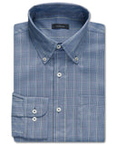 Winfrey Plaid Performance Twill Sport Shirt - turtleson