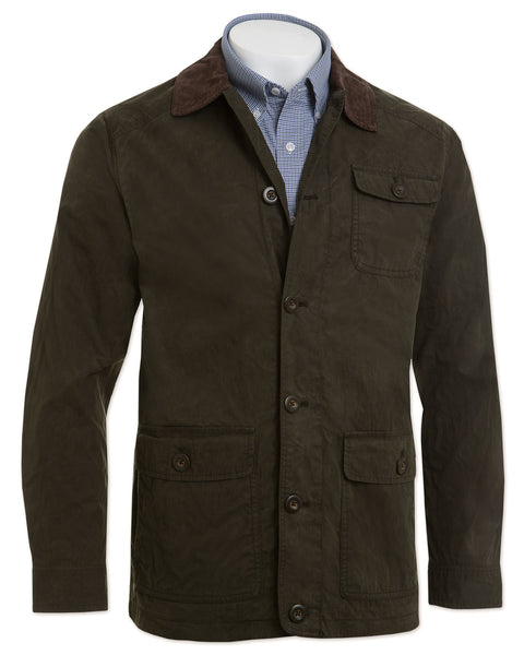 Waxed Cotton Ridge Jacket