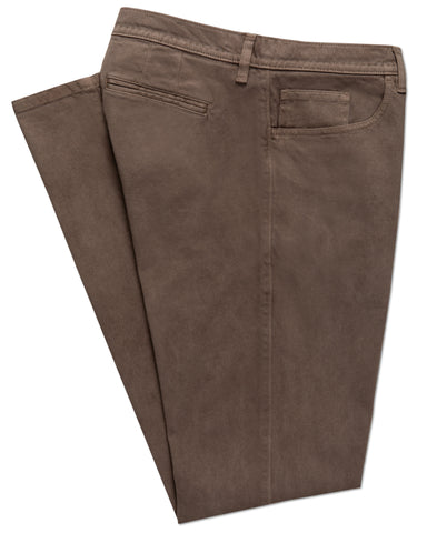 Bristol Brushed Twill Hybrid 5-Pocket Pant