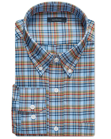 Becket Plaid Performance Sport Shirt