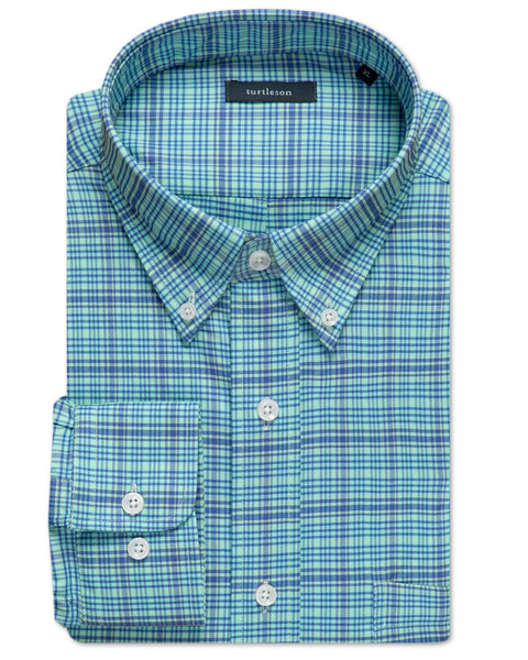Paxton Plaid Performance Sport Shirt