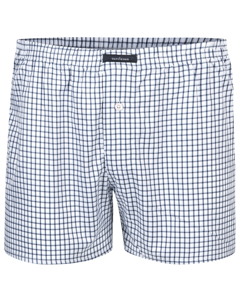 Silhouette Plaid Performance Boxer