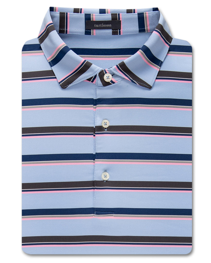 Clifford Stripe Performance Polo