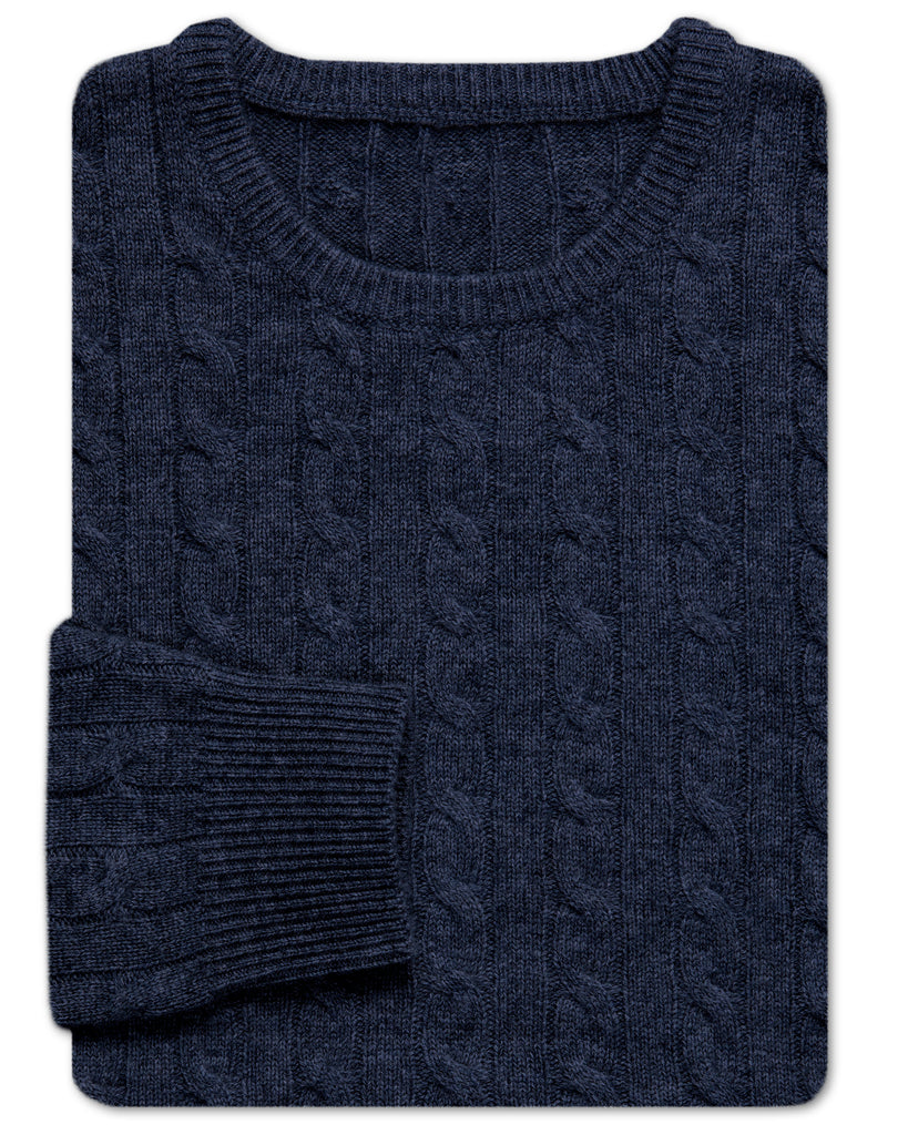 Knox Cable Crewneck Sweater