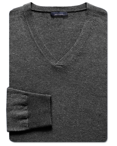 Crossover V-Neck Sweater