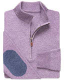 Boulder Rag-Wool Quarter-Zip Sweater
