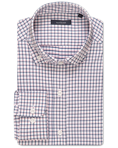 Silhouette Plaid Performance Sport Shirt
