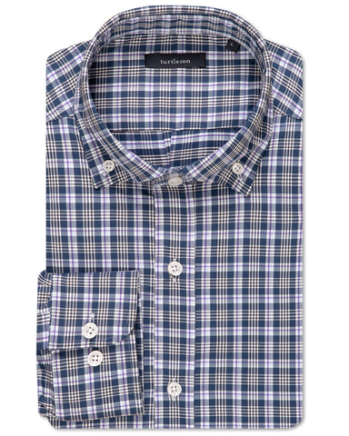 Richard Multi Plaid Performance Sport Shirt