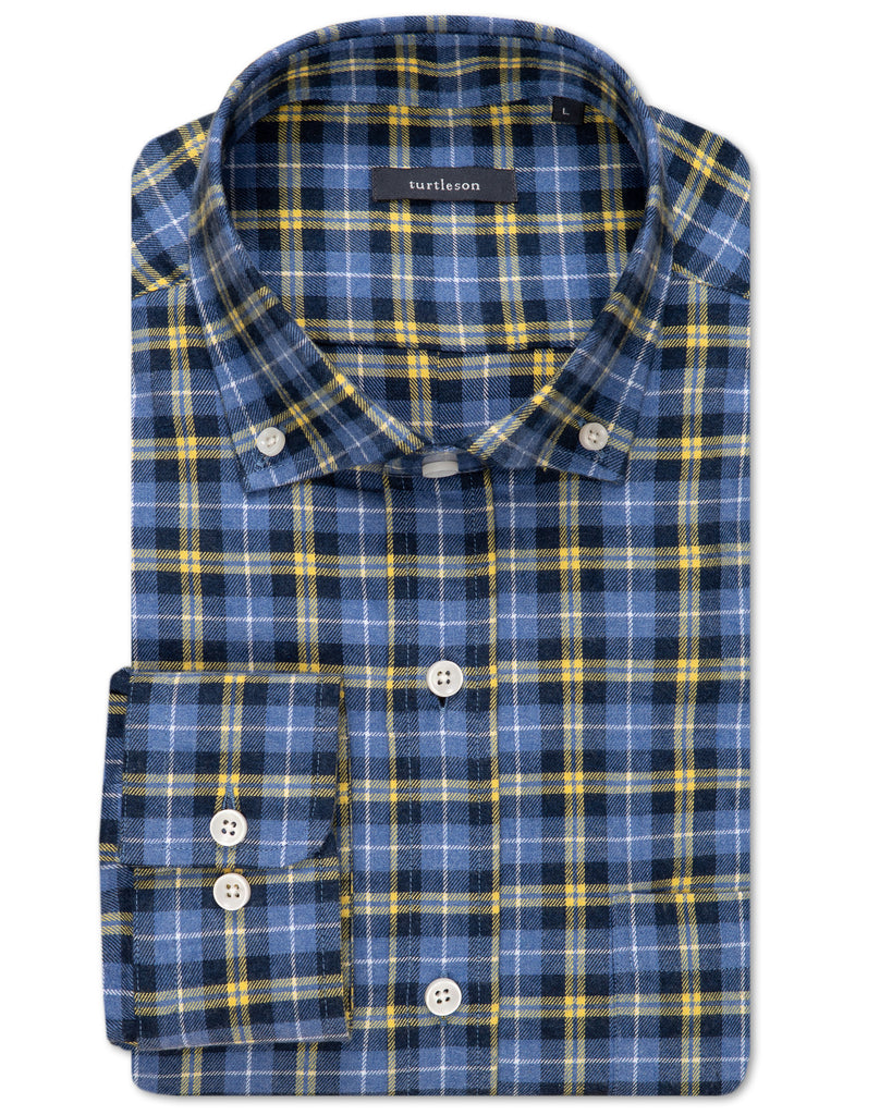 Joel Plaid Sport Shirt