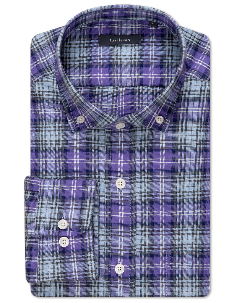 Holiday Plaid Sport Shirt