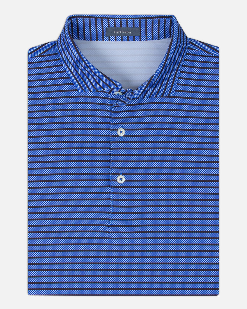 Ainsworth Stripe Performance Polo