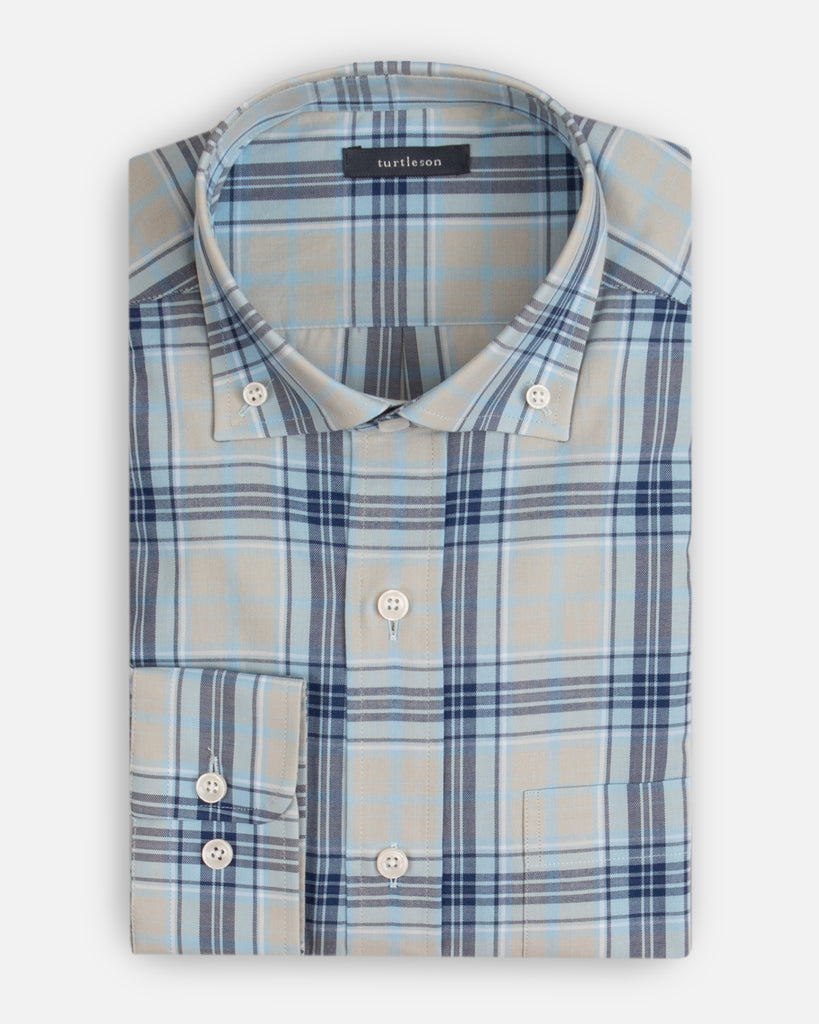 Finch Plaid Sport Shirt