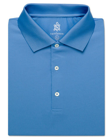 Solid Performance Polo, Knit Collar