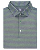 Plaited Oxford Pique Stripe Polo - turtleson