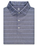 Plaited Oxford Pique Line Stripe Polo - turtleson