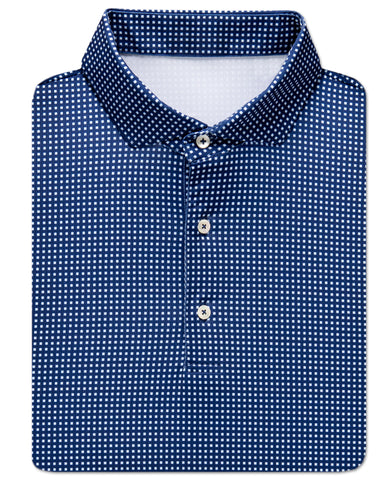 Alcott Jacquard Performance Polo