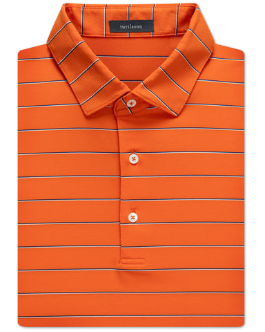 Walker Stripe Performance Polo