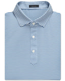 Classic Stripe Performance Polo - turtleson