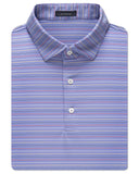 Rainbow Stripe Performance Polo