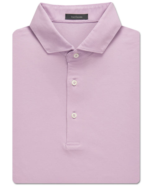Solid Clubhouse-Cotton Polo - turtleson