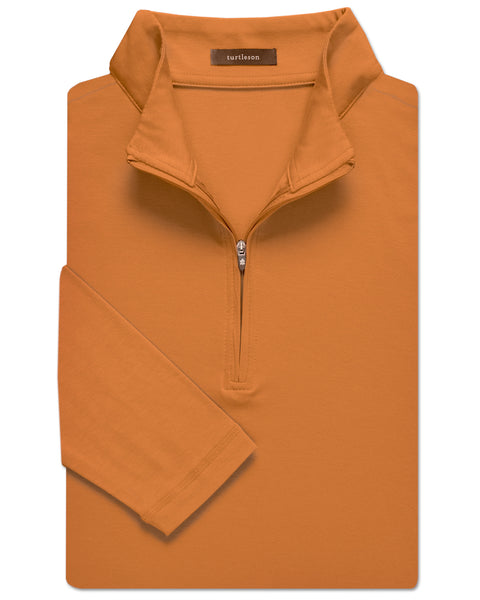 Clubhouse-Cotton Quarter-Zip Pullover