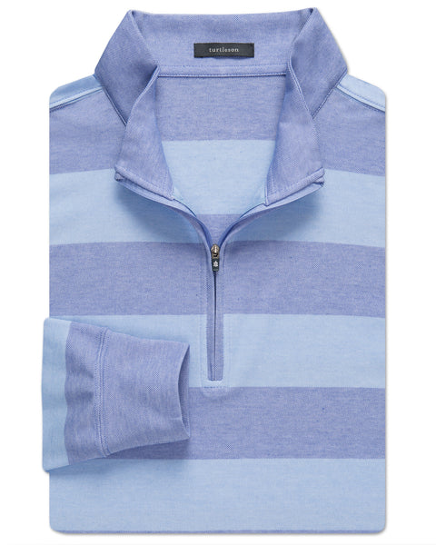 Rugby Pique Performance Quarter-Zip Pullover - turtleson