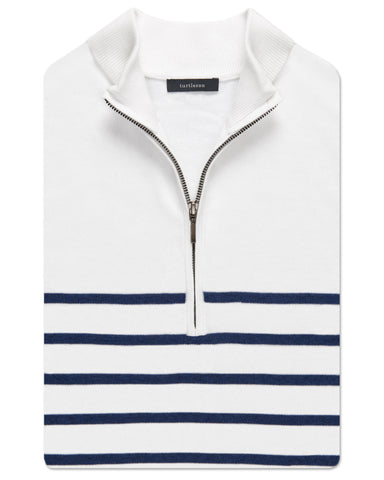 Ship Stripe Quarter-Zip Vest - turtleson