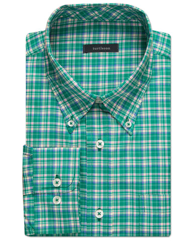 Finlay Plaid Sport Shirt - turtleson