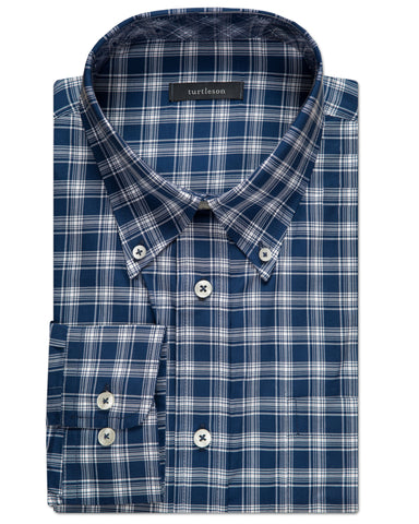 Atwell Windowpane Sport Shirt - turtleson