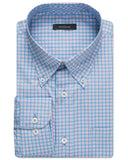 Keagan Windowpane Performance Sport Shirt - turtleson