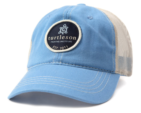 Turtleson Mesh-Back Cap with Scout Patch