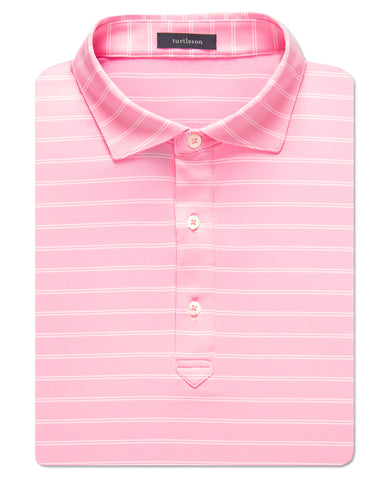 Hank Stripe Performance Polo