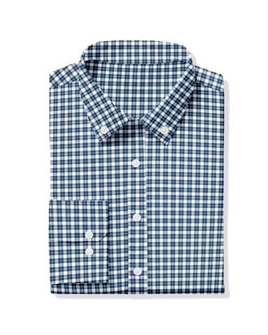 George Twill Check Sport Shirt