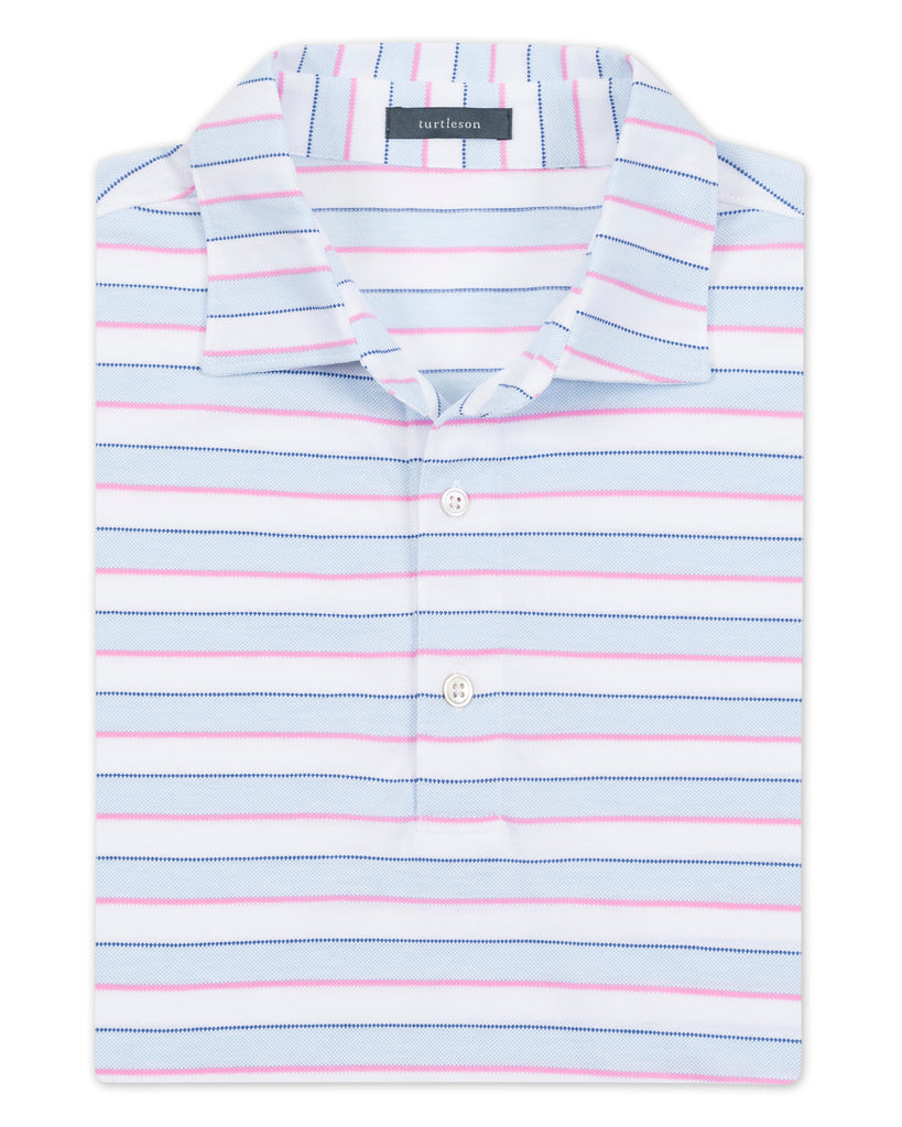 Royal Oxford Pierce Stripe Polo