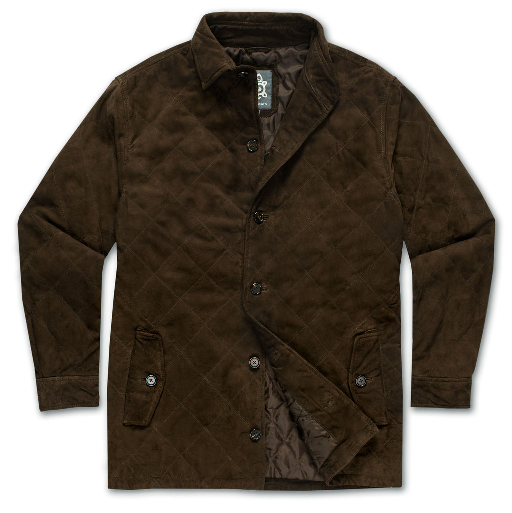Quilted Suede Jacket - turtleson