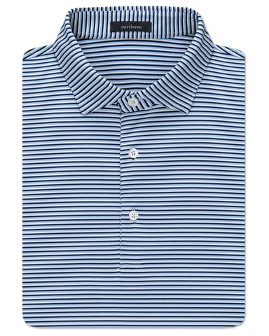 Conner Stripe Performance Polo