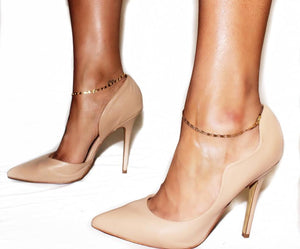 """Dainty Gold"" Anklet set"