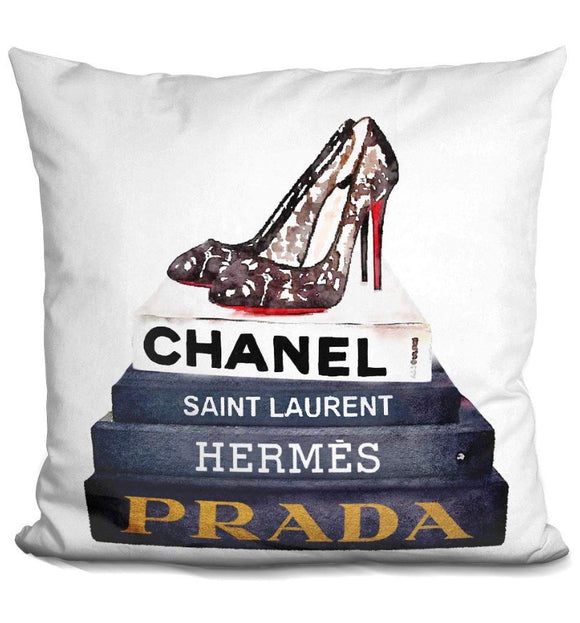 """Designer"" throw accent pillow"
