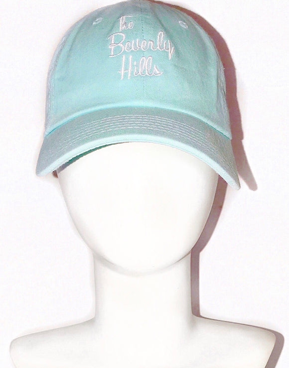 """The Beverly Hills"" bleu cap"