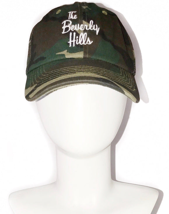 """The Beverly Hills"" camo cap"