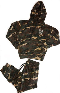 "Unisex ""The Beverly Hills"" Camo sweatsuit"