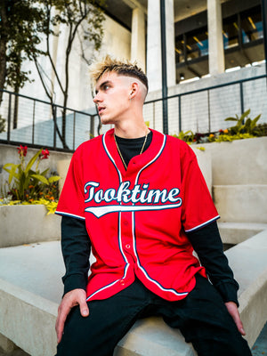 BASEBALL JERSEY - TEAM RED