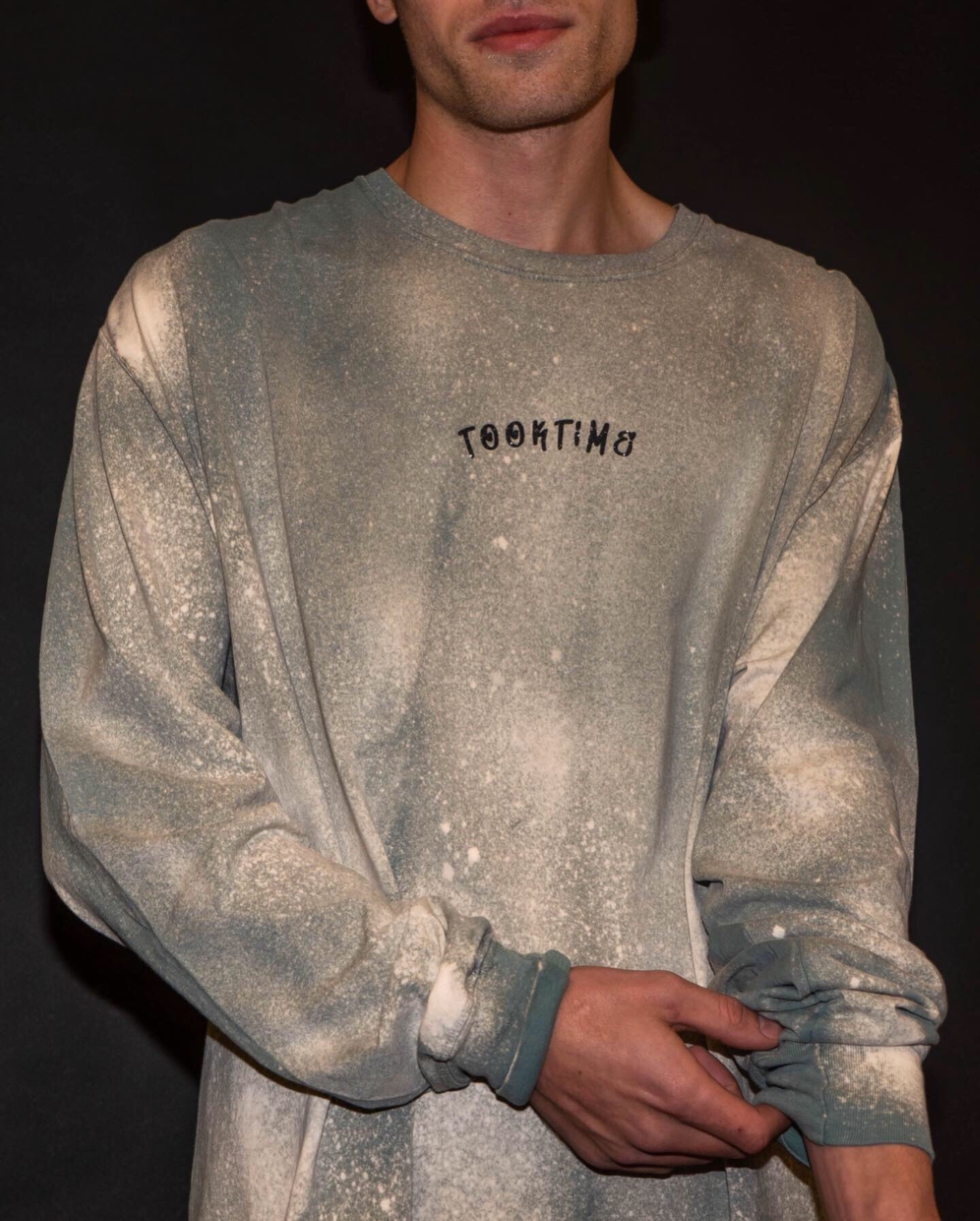 Bleached Heavyweight Long Sleeve Shirt