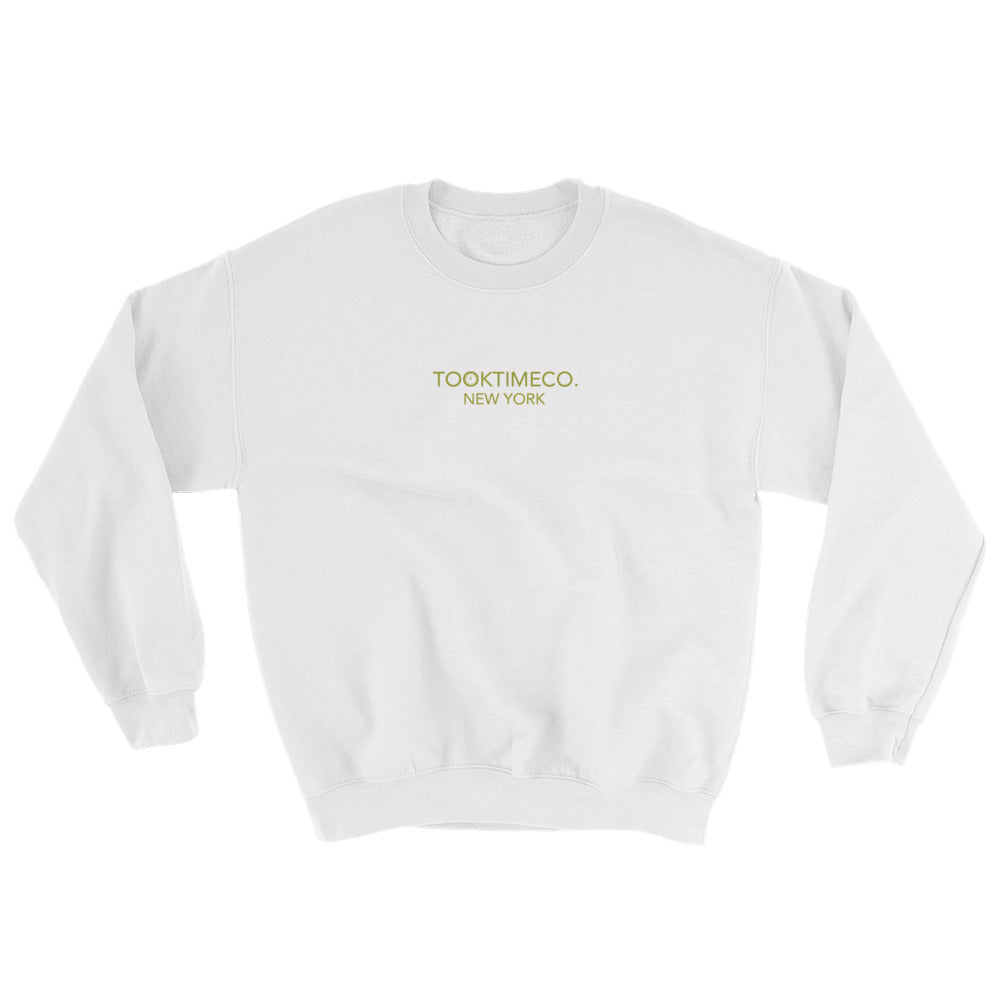 NEW YORK CREW - WHITE/GOLD