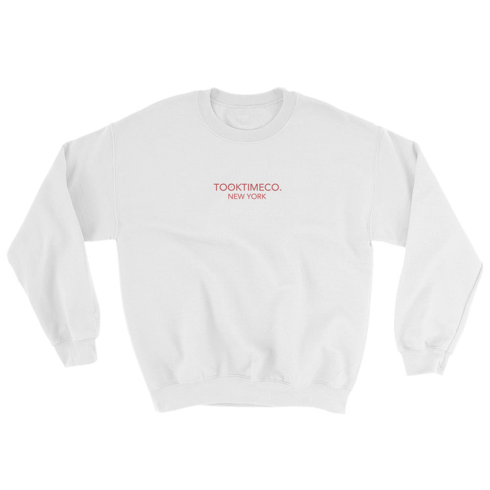 NEW YORK CREW - WHITE/RED