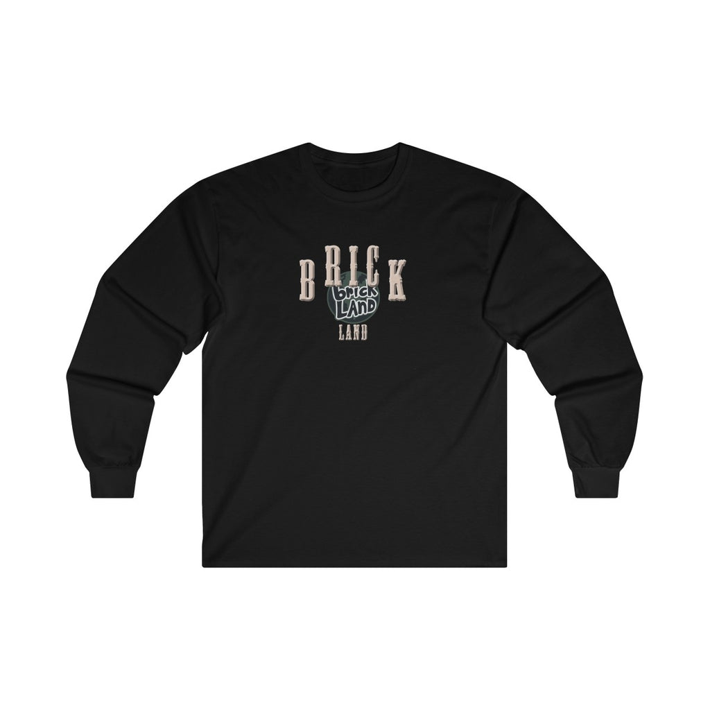 Brickland Black Wanted Long Sleeve - Bricklandco