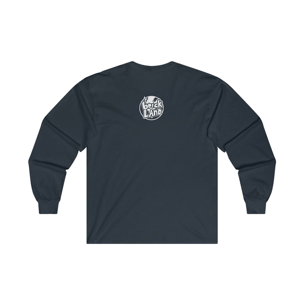 Load image into Gallery viewer, Navy Tangerine Brick Long Sleeve - Bricklandco