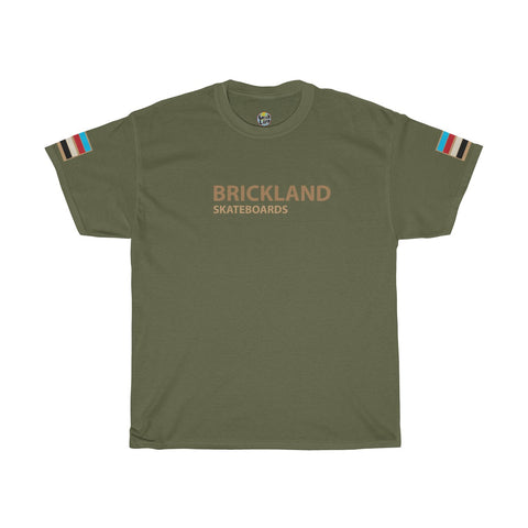Skate Tee - Military Green - Bricklandco