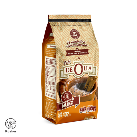 CAFE DE OLLA NUEZ MOLIDO REGULAR 432 G